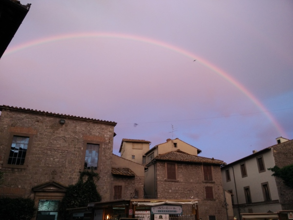 Rainbow in Viterbo.